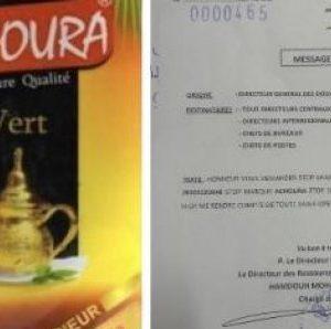Des résidus de pesticides retrouvés dans du thé