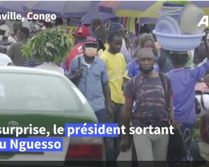 Congo: le président Sassou Nguesso largement en tête selon les premières tendances