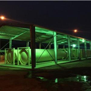 UCC AQUABLOC®, des Solutions Innovantes pour<br>la production d'eau potable jusqu'à 44'000 m³/jour,<br>mise en production industrielle en 6 mois.