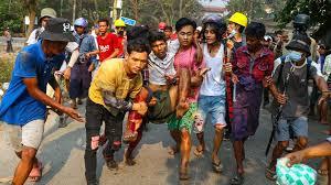 L'Union européenne a sanctionné lundi le chef de la junte militaire au pouvoir en Birmanie, le général Min Aung Hlaing, neuf des plus hauts gradés des forces armées et le président de la commission électorale pour la répression menée dans le pays depuis le coup d'Etat.