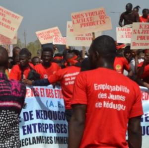 Kédougou : Des étudiants déversent leur colère dans la rue