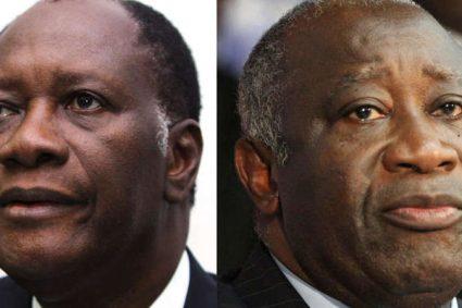 Laurent Gbagbo et Alassane Ouattara: de la lutte à mort aux retrouvailles forcées