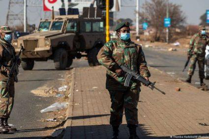 En Afrique du Sud, l'armée mobilise les réservistes face aux pilleurs