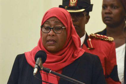 La présidente tanzanienne Samia Suluhu Hassan en visite au Rwanda