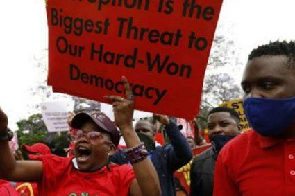 Afrique du Sud: les syndicats appellent à une grève générale et interpellent l'État