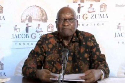 Afrique du Sud : libre, Jacob Zuma s'adresse à ses partisans